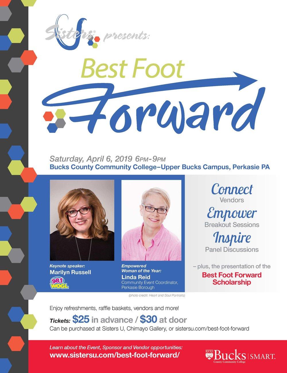 Sisters U Best Foot Forward Flyer 2019_FINAL.jpg