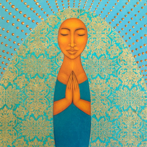 Painting by  Tamara Adams