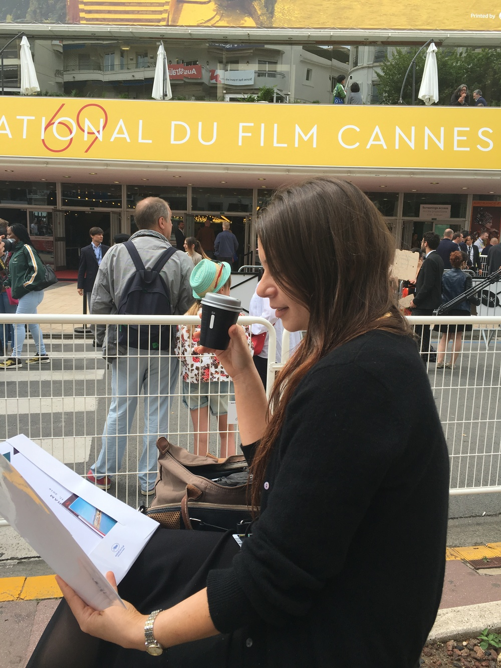 Bex in Cannes!