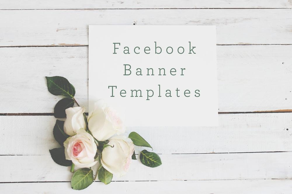 facebook banner template pack