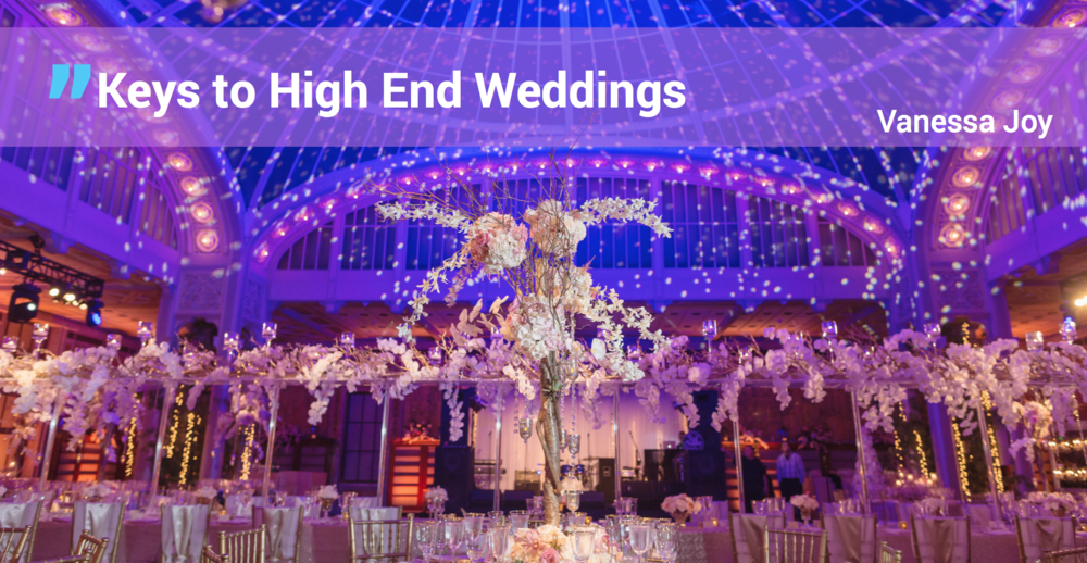 For Any Wedding Professional - If you want luxury couples and how to make them happy.