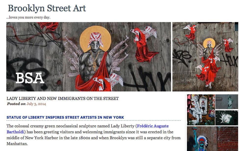 Read More at Brooklyn Street Art