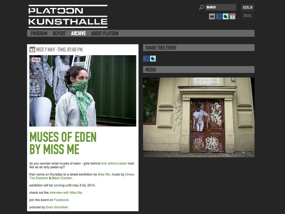 Read More at PLATOON KUNSTHALLE