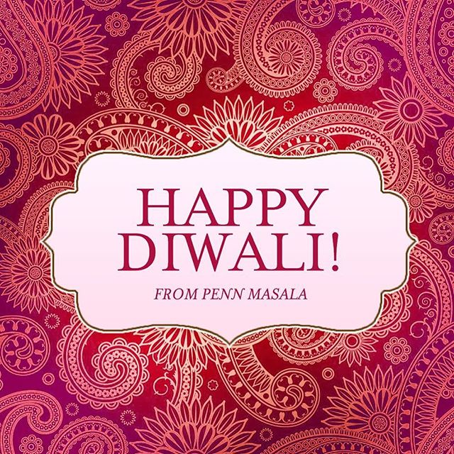Happy Diwali from all of us at Masala! We hope you have a great holiday with friends and family! ✨💥