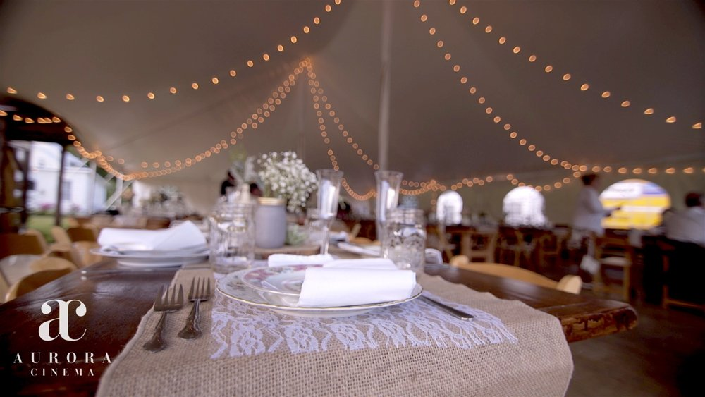 (Still from video) Tablescapes: Pieceful Settings