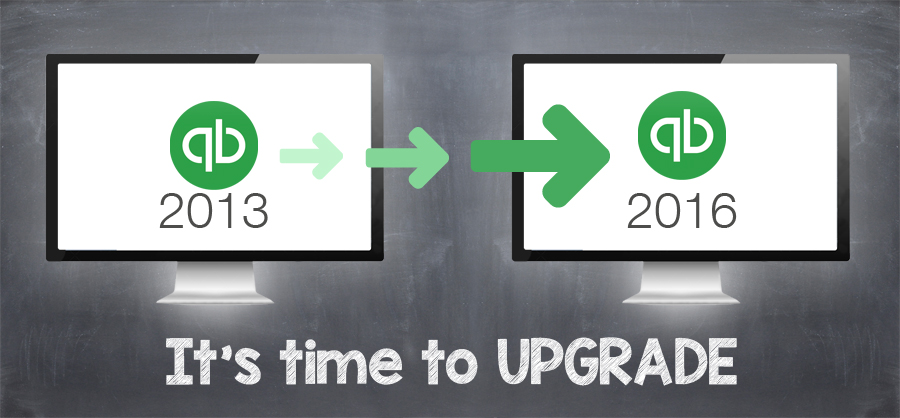 QuickBooks upgrade
