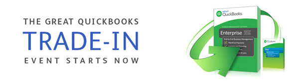 The Great QuickBooks Trade-In Event Sale