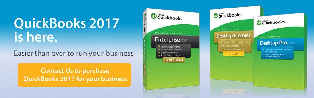 QuickBooks 2017 | QuickBooks Enterprise 2017 | QuickBooks Premier 2017 | QuickBooks Pro 2017