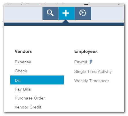 Paying Bills in QuickBooks Online
