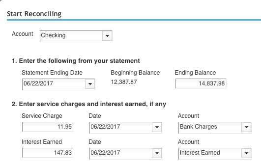 Reconciling your accounts regularly in QuickBooks Online