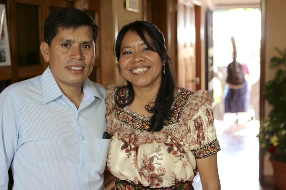 Candelaria and Gregorio Garcia