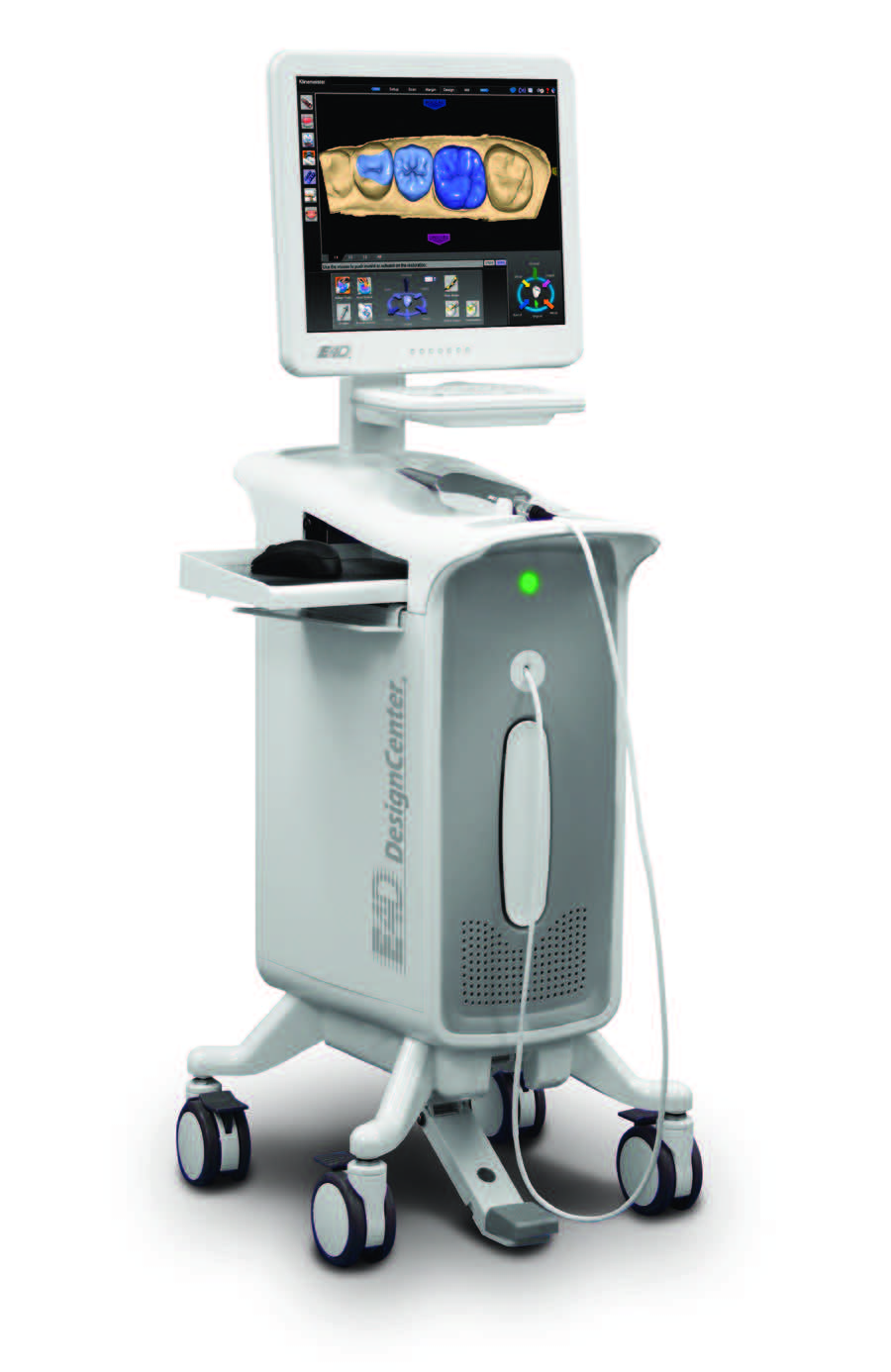 E4D Dentist System, an innovative and advanced chairside CAD/CAM technology.