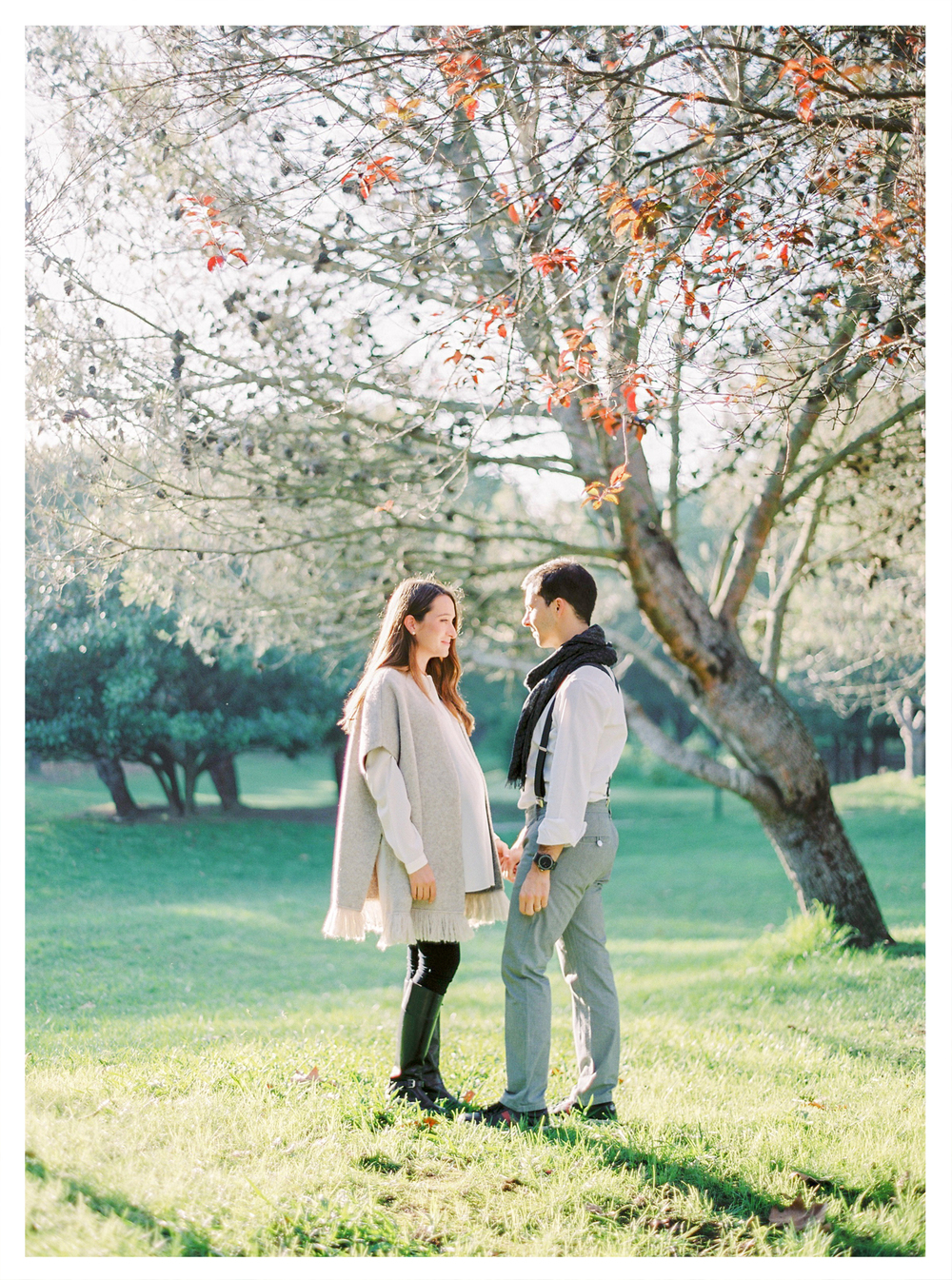 maternity portrait film photography