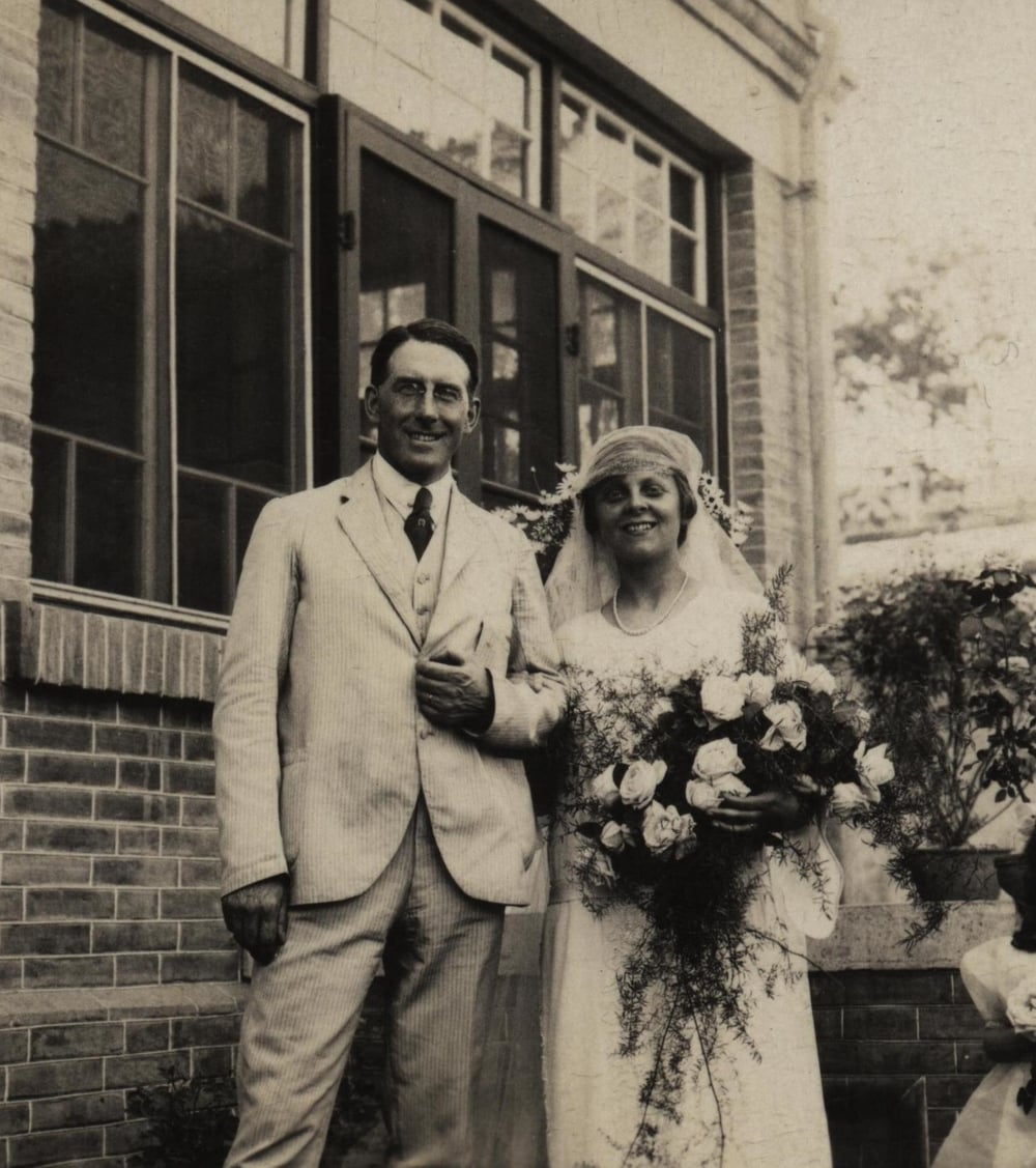 My dad, Dr. Stanley Hoyte, married my mom, Grace Wilder, in Peking 1922