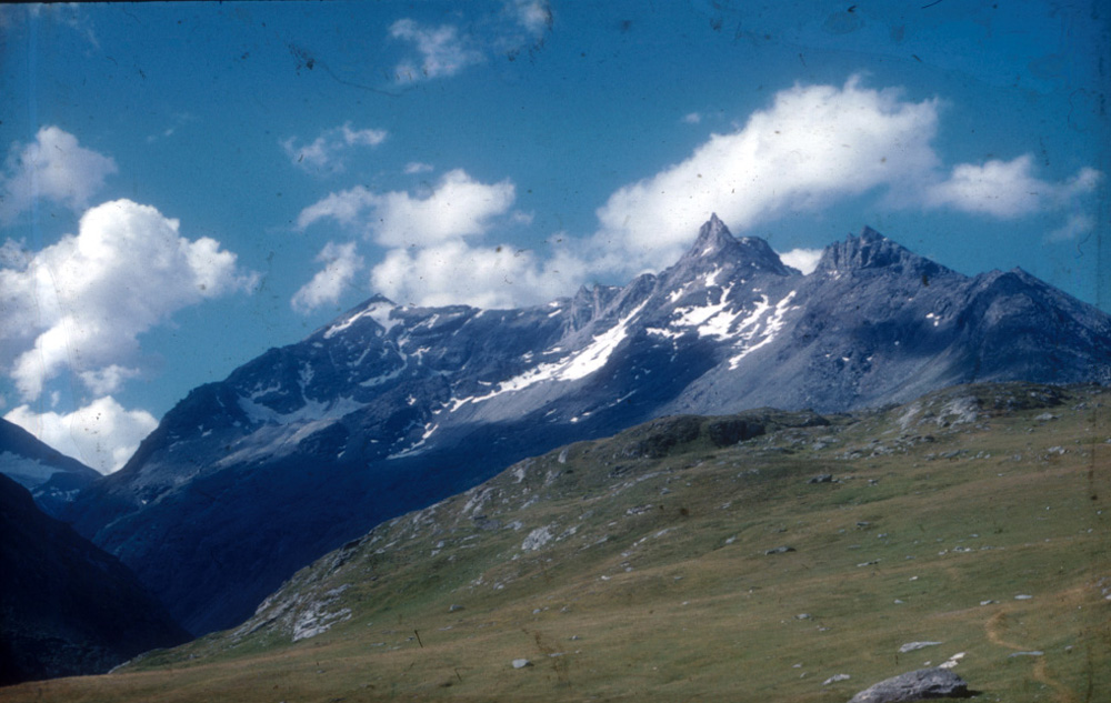 The Alps near Hannibal's pass.