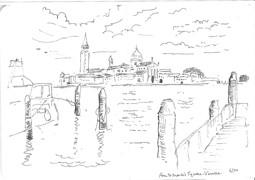 Venice: Saint Georges, from St. Mark's Square