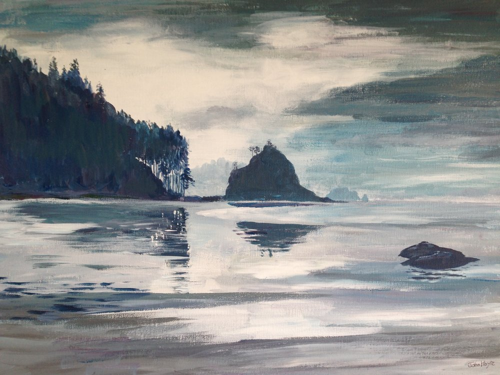 Second Beach, La Push, Olympic Peninsula  October 2016