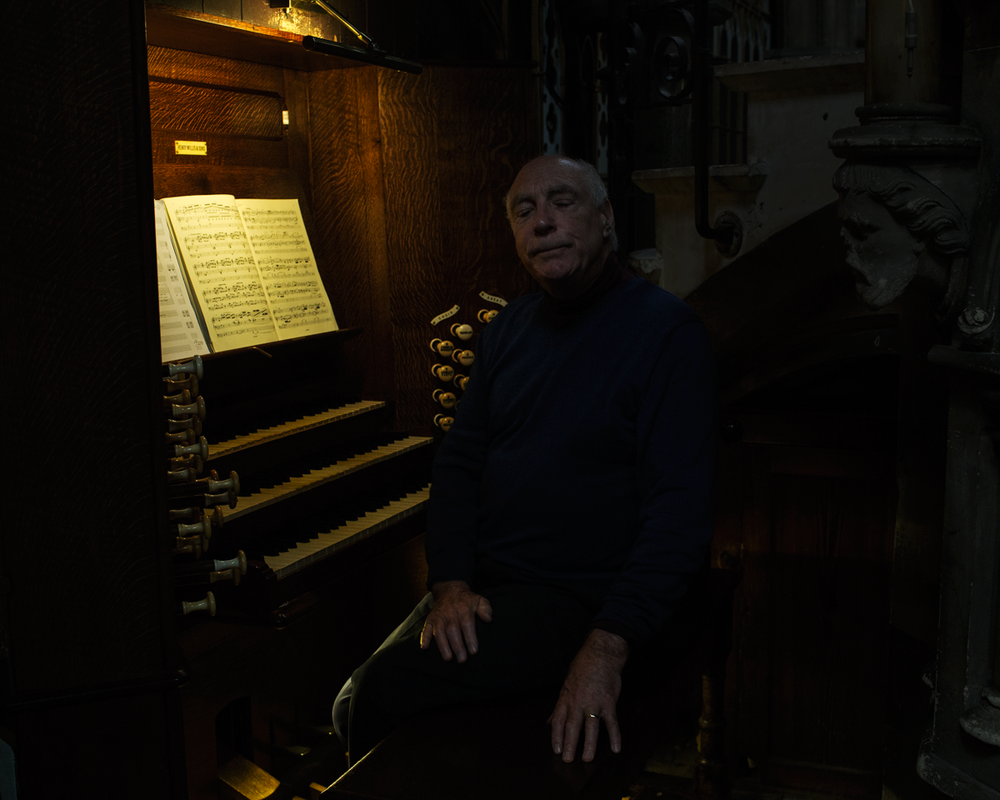 Roger Williams, Organist