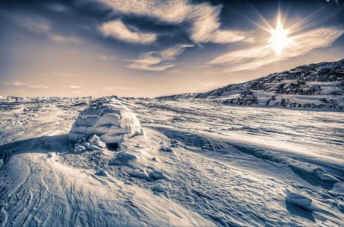 The frozen north                                  Baron Reznik/Flickr