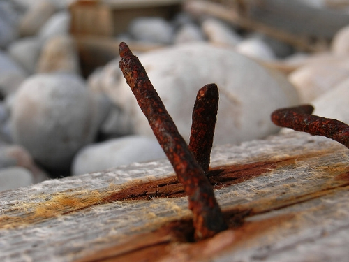 Rusty nails are not the only tetanus hazard                             Remigi Buj/Flickr