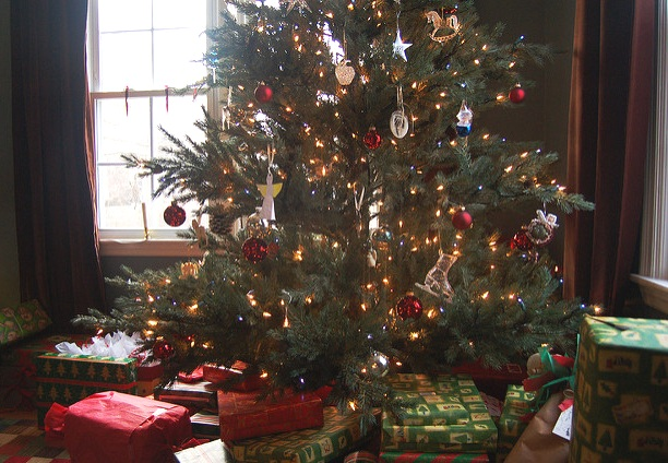 Nothing could be better than a childhood Christmas morning. — Brooke Raymond./Flickr