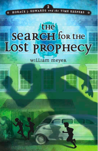 "Book Two series:  ""The Search for the Lost Prophecy"""