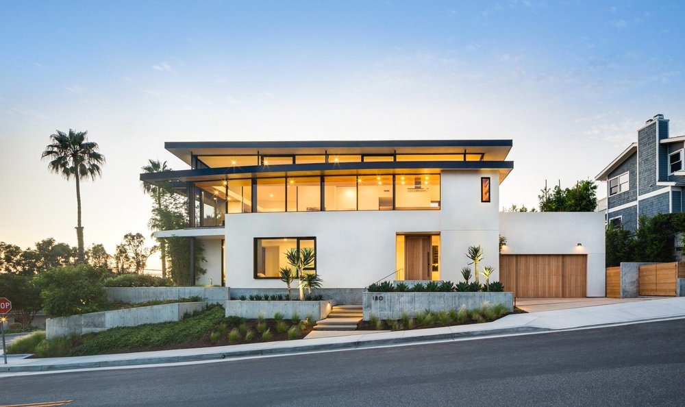 AIA award winning residential project in San Clemente, CA