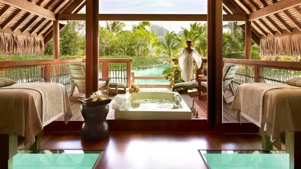 Image via Four Seasons Bora Bora