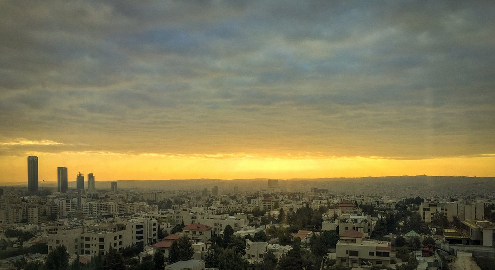 Amman  - one of the oldest continually inhabited cities in the world