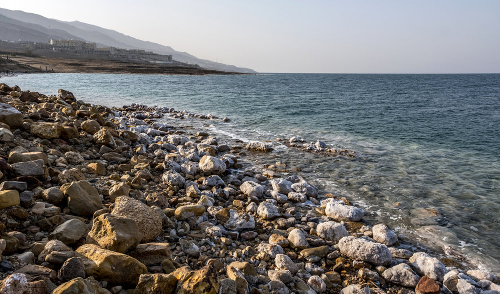The Dead Sea - Lowest point on planet earth
