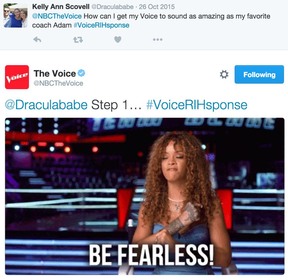 #VoiceRIHsponse