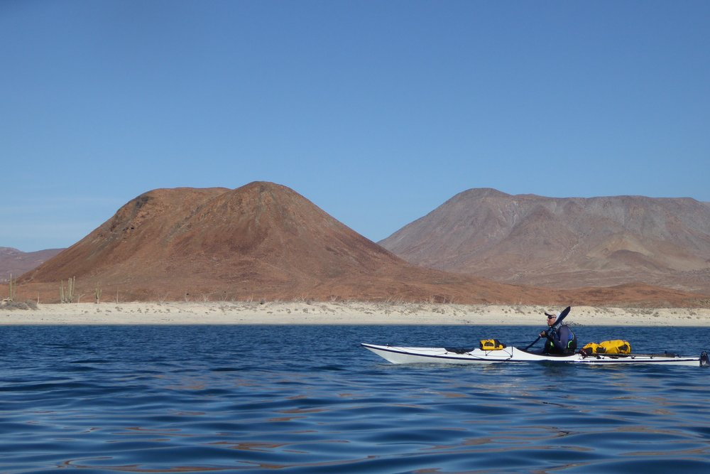 Once we rounded the point the seas calmed. We could see a sea of white in the channel to the East. Glad we were here.