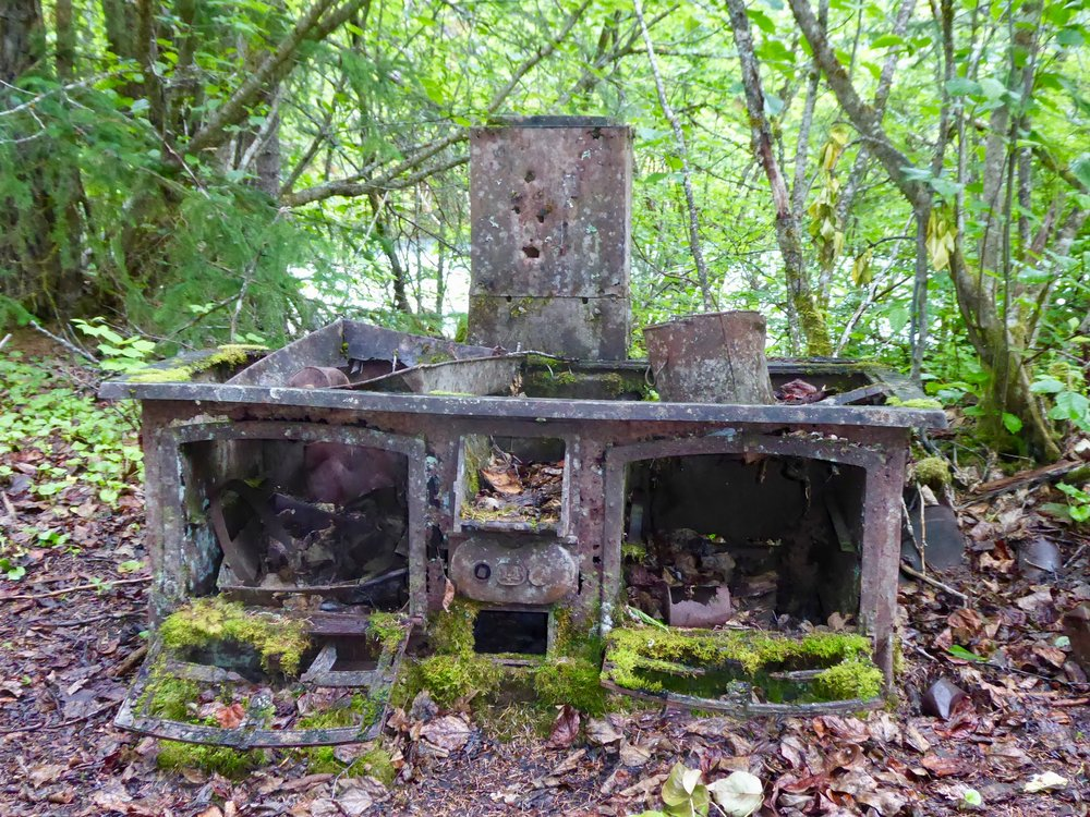 This stove probably cooked many good meals for the miners.