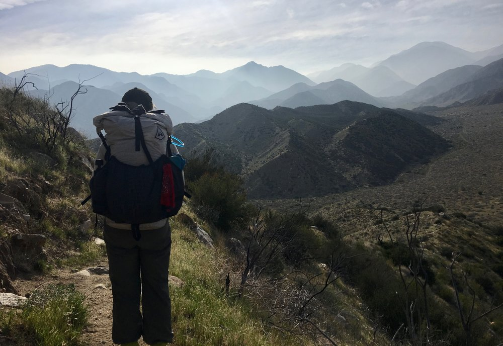 Miles hiked 24