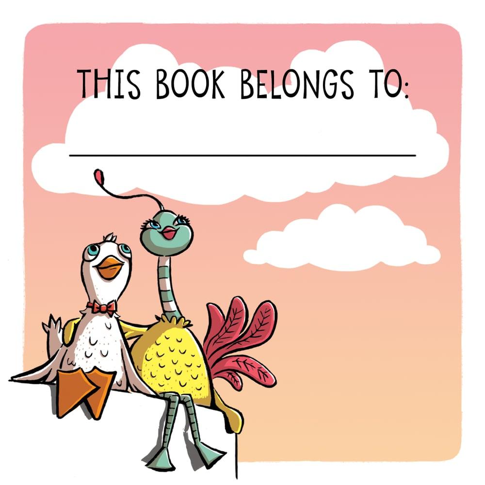 Nora Ericson's book plate