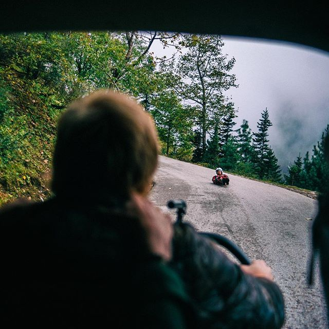 In India, the luge track is called the mountain highway. Shiva Keshavan perfected his skills by building his own modified street luge and testing it on the Rhotang Pass Highway. @dylanwineland captures the madness. Today we congratulate Shiva for qualifying for his 6th Olympics! 🇮🇳 📷: @colesax #farfromhometheseries