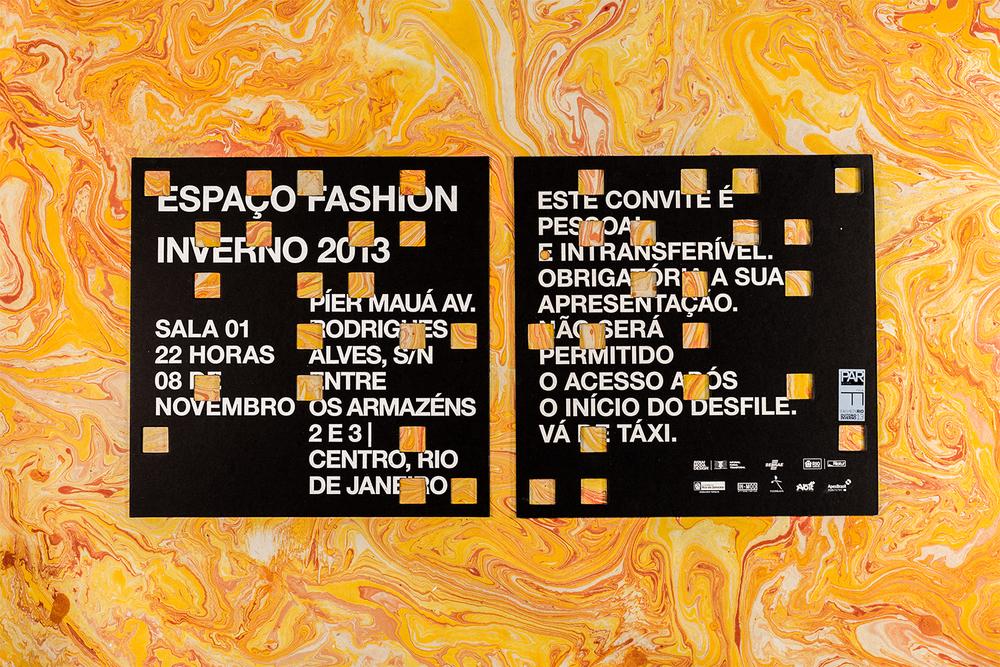 convite desfile fashion rio inverno 2013