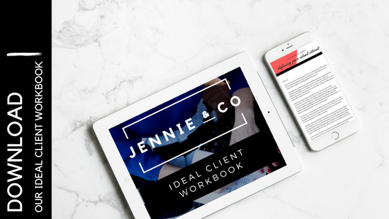 jennie and co ideal client workbook