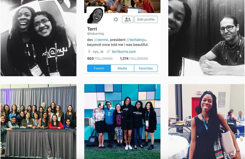 Instagram takeover for the Anita Borg Institue at the Grace Hopper Conference