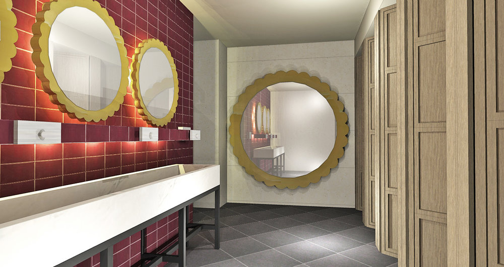 Brunetti, bathrooms design