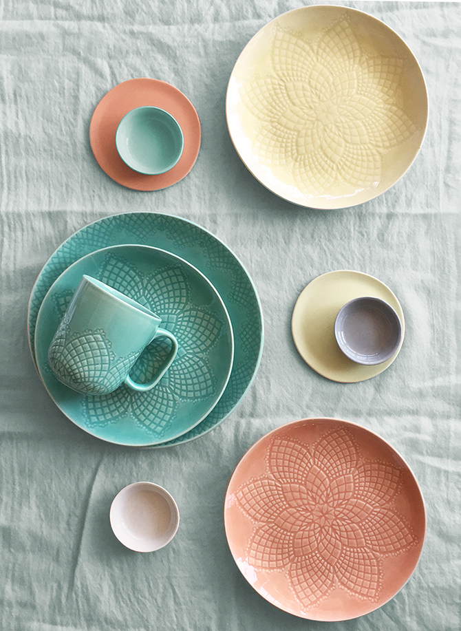 Martha Stewart Collection / Chantilly Dinnerware Collection & Dine u2014 Joo Young Lim