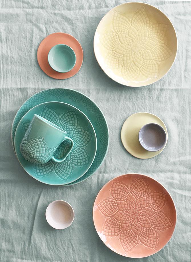 Martha Stewart Collection / Chantilly Dinnerware Collection & Dine u2014 Joo Young Lim