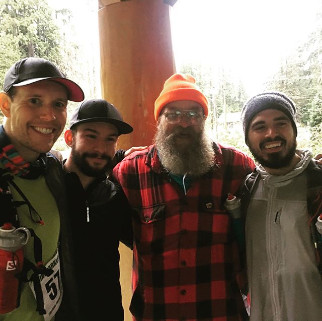 The men. The legends. The #minibarkley - a great run the woods with Dan and @ziggylinklater as we got lost, destroyed books, stepped a few puddles, and laughed the whole time (before the shivering set in). Many thanks to @garyrobbins and the NVOC for a fabulous event. Can't wait to try it again soon!