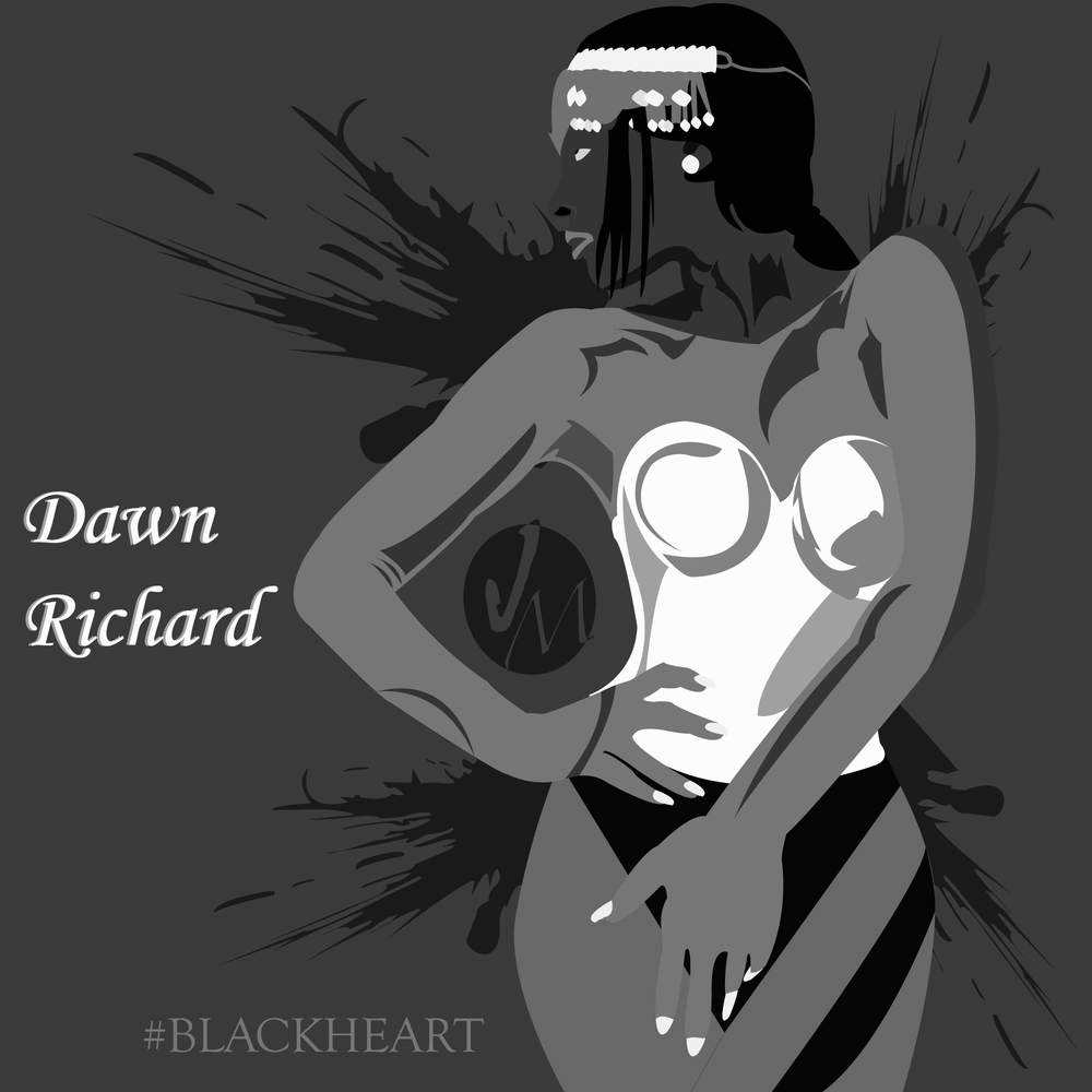 Dawn Richard Portrait [Blackheart]