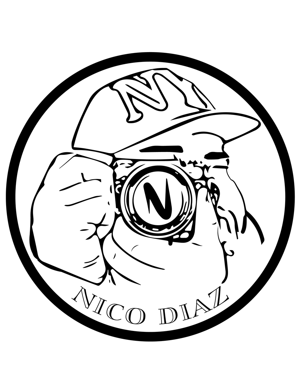 Nico Diaz Photography Logo