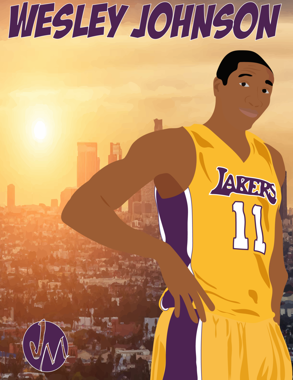Wesley Johnson Portrait