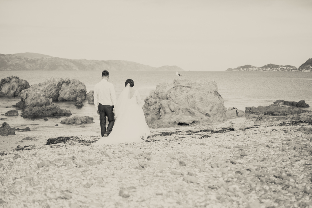 Scorching Bay Wellington Wedding Photography