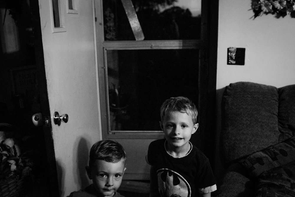 Dawson with his younger brother Alex. Though Alex's physical and mental health has not been as much of a struggle, according to Laura, Alex still sees 5 health specialists and was recently diagnosed with Oppositional Defiant Disorder.