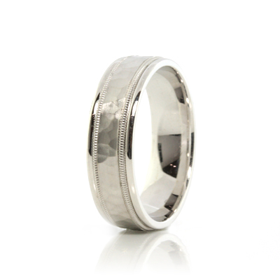 jewelry_exchange_co_sf_white_gold_polished_hammered_beading_mens_wedding_band.jpg