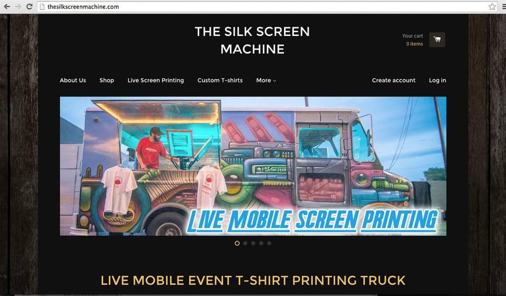 The Silk Screen Machine
